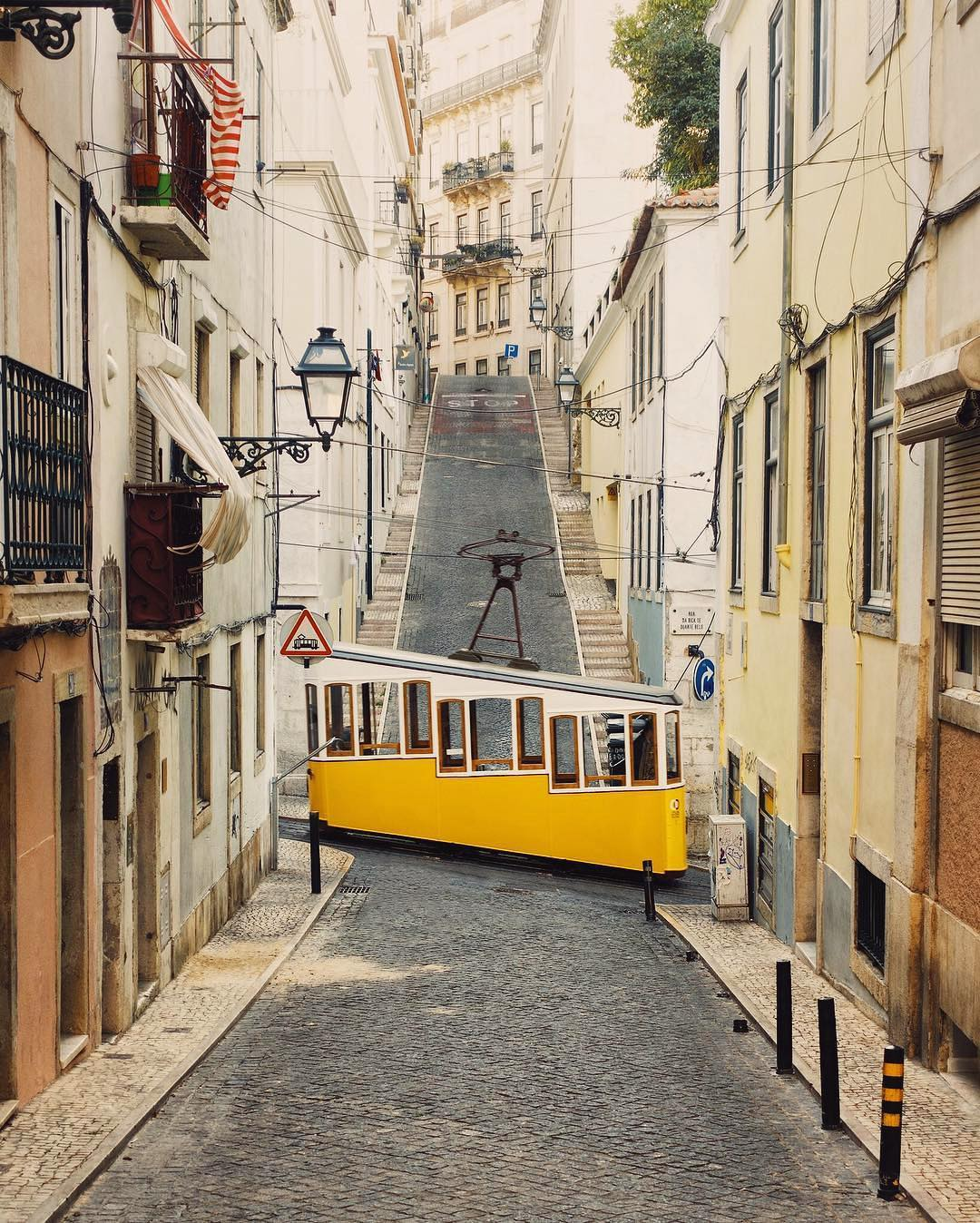 Accidentally Wes Anderson - Tramway Car