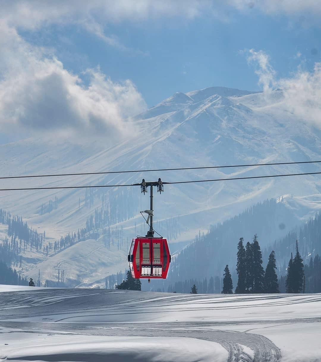 Accidentally Wes Anderson - Gulmarg Gondola