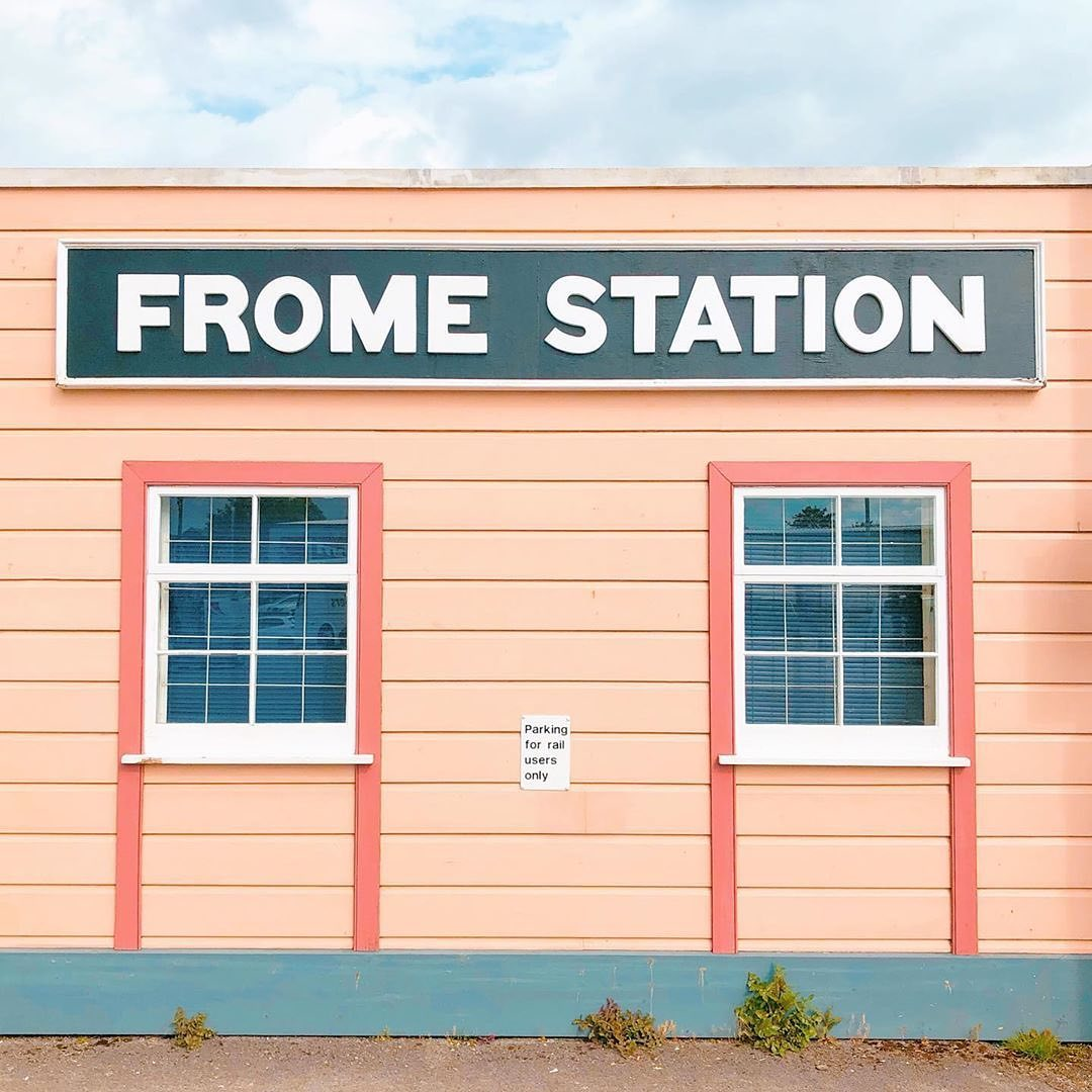 Accidentally Wes Anderson - Frome Railway Station