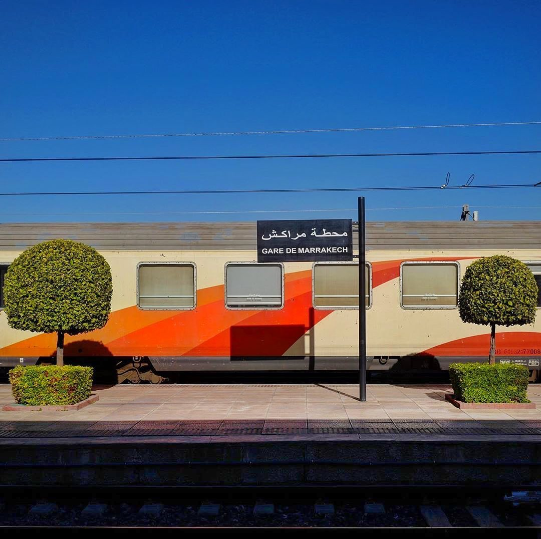 Accidentally Wes Anderson - Marrakesh Railway Station
