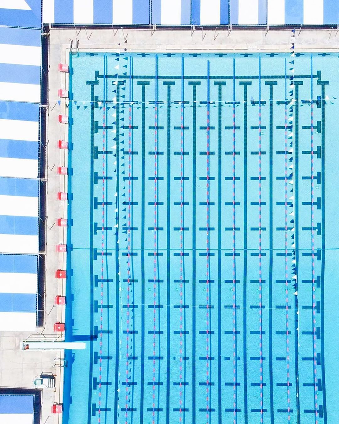 Accidentally Wes Anderson - North Shore Pool