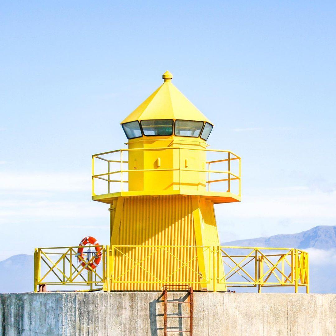 Accidentally Wes Anderson - Höfði Lighthouse