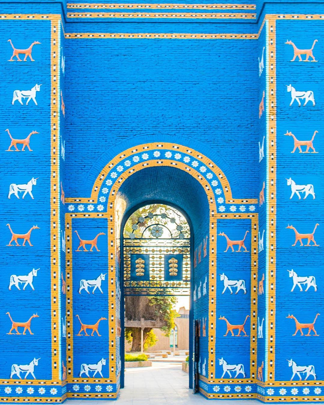 Accidentally Wes Anderson - Ishtar Gate