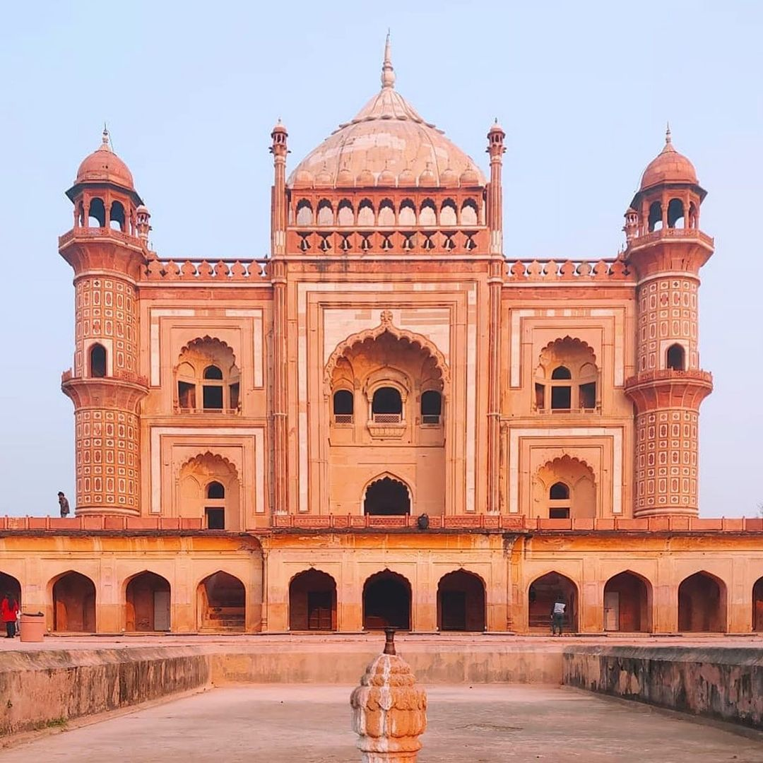 Accidentally Wes Anderson - Safdarjung's Tomb